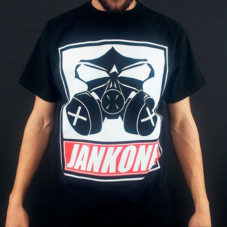 "Picture of JankOne ""Maske"" Shirt (schwarz)"