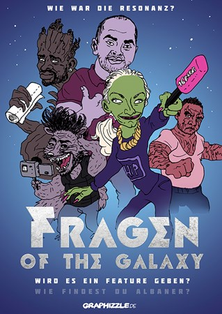 Picture of FRAGEN OF THE GALAXY - POSTER