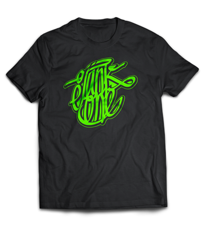 Picture of JANK ONE GFX - SHIRT (schwarz/grün)