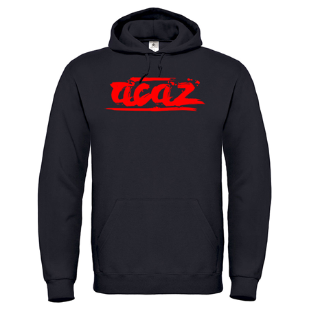 "Picture of Acaz ""Brush Logo"" Hoody [schwarz]"