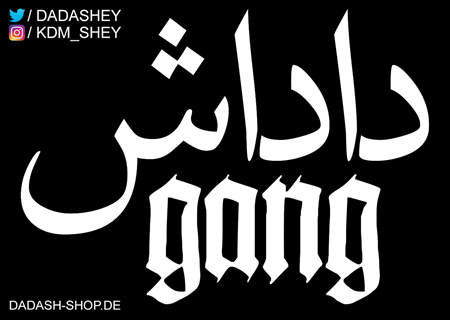 Picture of DADASH GANG - STICKER