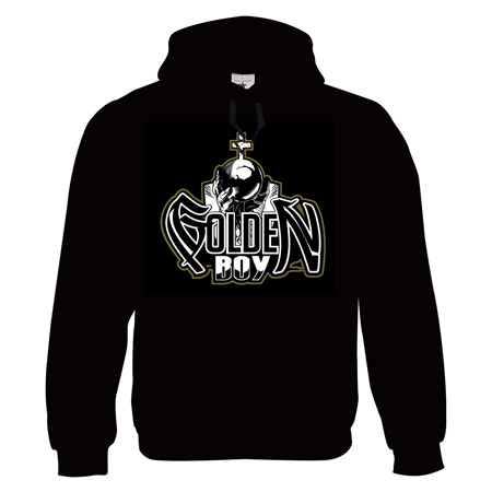 Picture of GOLDEN SANCTUARY - HOODY (schwarz)