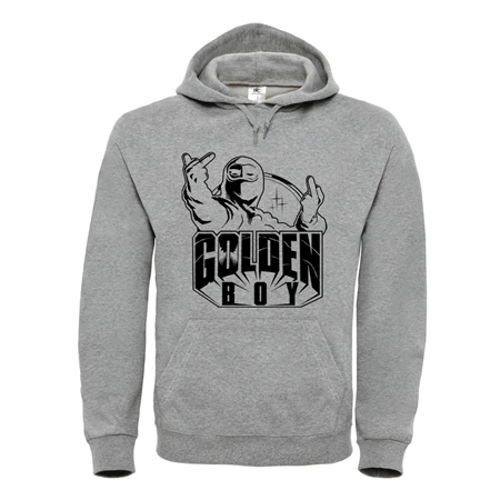 Picture of GOLDEN BOY - HOODY (grau)